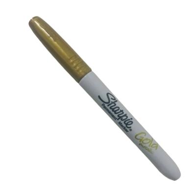 Marcador Sharpie Fino Metálico Oro