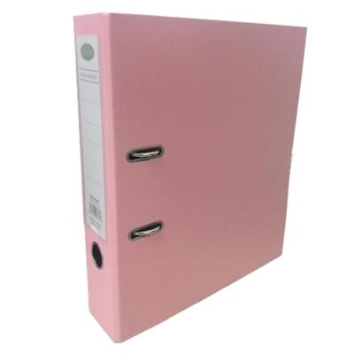 Bibliorato De Color A4 Plastificado Rosa Pastel