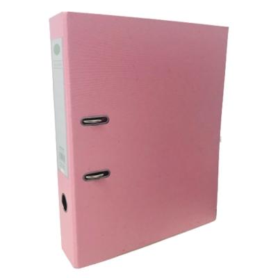 Bibliorato De Color Oficio Plastificado Rosa Pastel