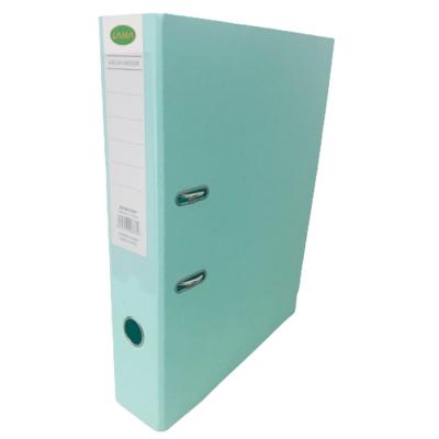 Bibliorato De Color Oficio Plastificado Verde Pastel