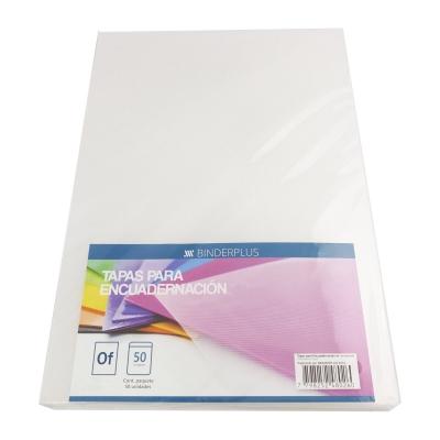 Tapas Oficio P/ Anillar Encuadernación Espiralado Cristal (x50)