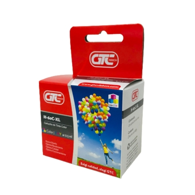 Cartucho Alternativo H 60C Xl Color 12,5ml