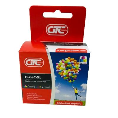 Cartucho Alternativo Gtc 122 XL Color 12ml