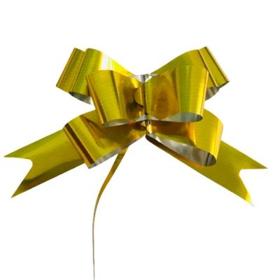 Moños Mágicos Dorados N°50 P/ Regalo Directo Fabrica (x50)
