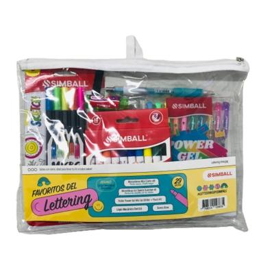 Kit Lettering Simball Mini Conic (x29 Piezas)
