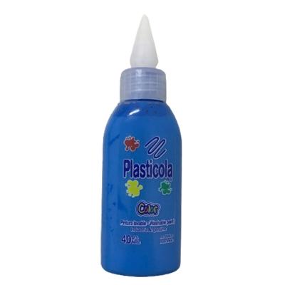 Plasticola Color Azul 40 Grs