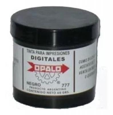 Tinta Fichaje Dactilar Huellas Digitales Opalo 777 (60cc)