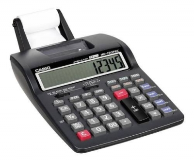 Calculadora Impresora Casio Hr-150rc 12 Dígitos