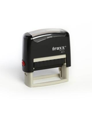 Sello Automático Traxx Printer 9011 C/ 3 Líneas De Texto