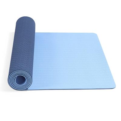 Colchoneta Yoga Mat TPE Dúo 61x183 cm x6mm Con Estuche