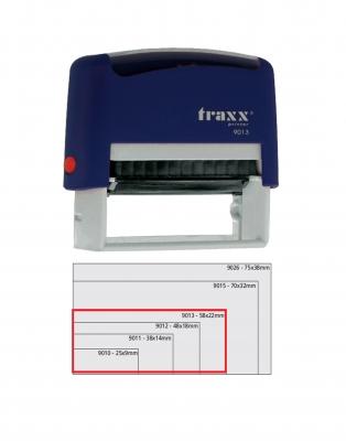 Sello Automático Traxx 9013 Azul