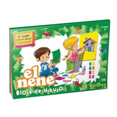 Block De Dibujo N° 5 Color (24 Hojas)