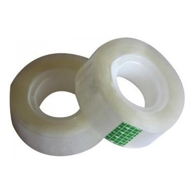 12 Cintas Adhesivas Cristal Cono Plástico 12x30