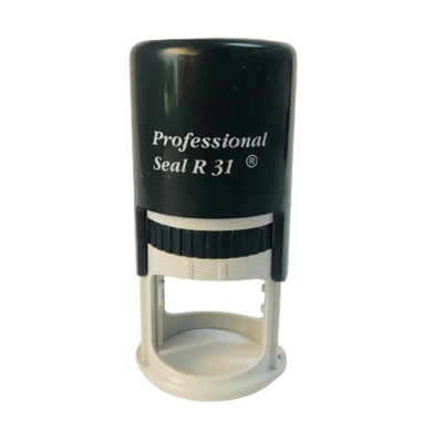 Sello Automatico Professional R31 31 Mm Redondo Sin Texto