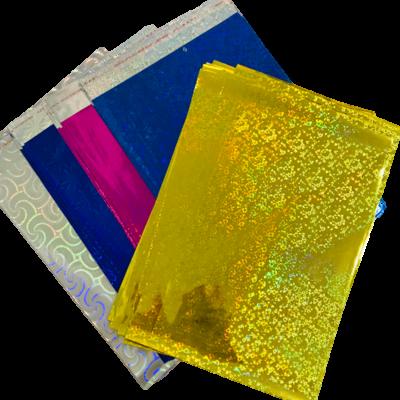 Bolsa Sobre De Regalo Holográma N°5 35x50 (Paq. x50)