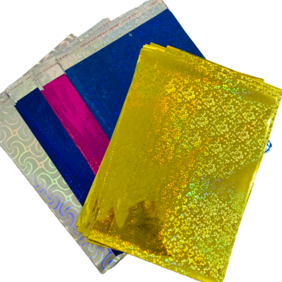 Bolsa Sobre De Regalo Holográma N°6 43x55,5 (Paq. x50)
